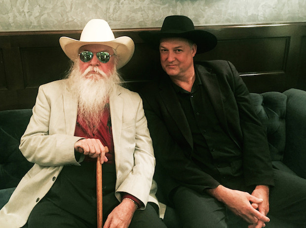 Leon Russell and Harrod Blank in NY for A Poem Is A Naked Person