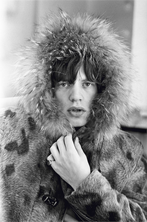 Mick Jagger in Fur Parker, 1964