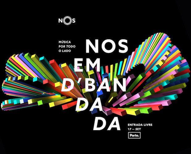 Logo NOS em D Bandada